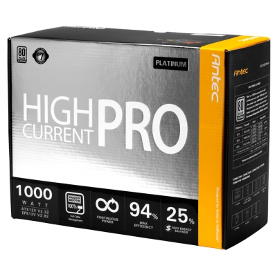 Antec High Current Pro Platinum 1000W Power Supply Review