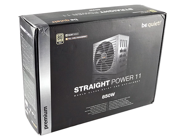 be quiet! Straight Power 11 850W box