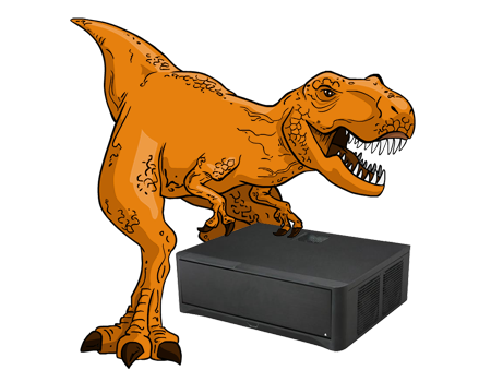 T-Rex | $,1500 High-End Media Streaming PC Build