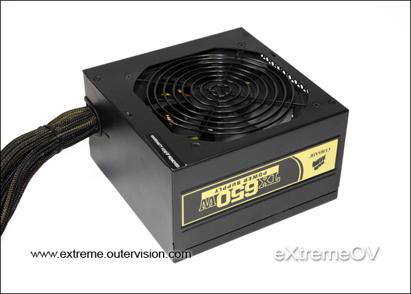 Corsair TX650 650W Power Supply Review - Features and Specifications